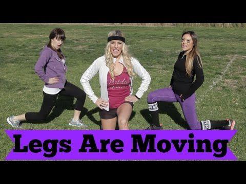 Legs Are Moving Fitness Parody | POPSUGAR Fitness