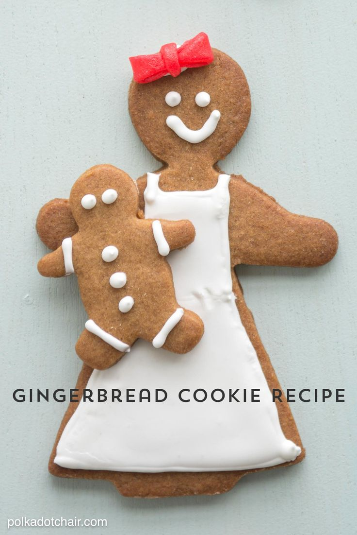 Our Favorite Gingerbread Cookie Recipe