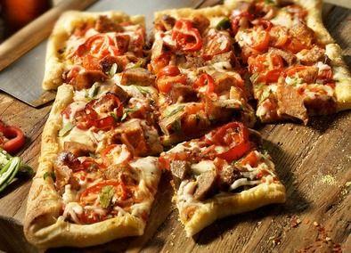 Sausage Diavolo Pizza with Johsonville Italian Sausage