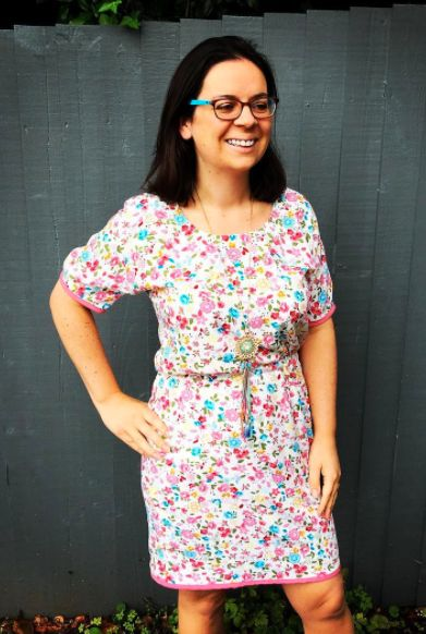 Ella's Bettine dress - sewing pattern by Tilly and the Buttons