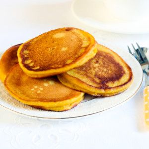 I Quit Sugar - Pumpkin Pikelets with coconut flour