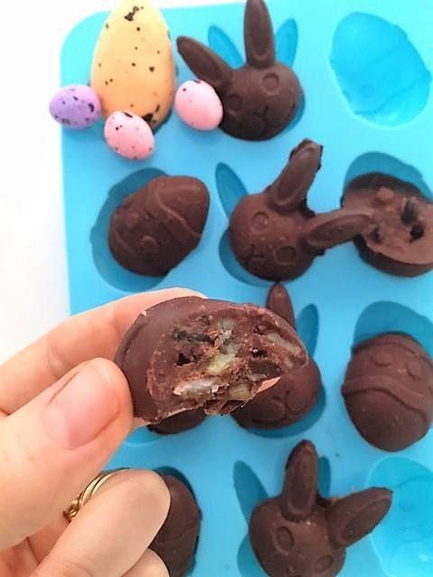 'Hot Cross Bun' Chocolates