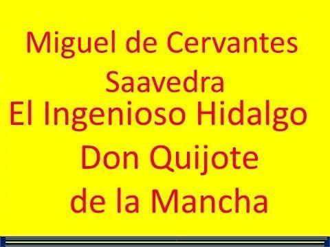 Don Quijote de la Mancha de Miguel de Cervantes Saavedra en pdf gratis, II Tomos, 976 páginas (Obra de dominio público – Clásico de la Literatura Universal) | Holismo Planetario en la Web