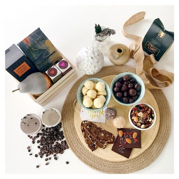Tea, chocolate and coffee gifts with quality and taste. A combination of local, hand crafted and gourmet gifts from Byron Bay.