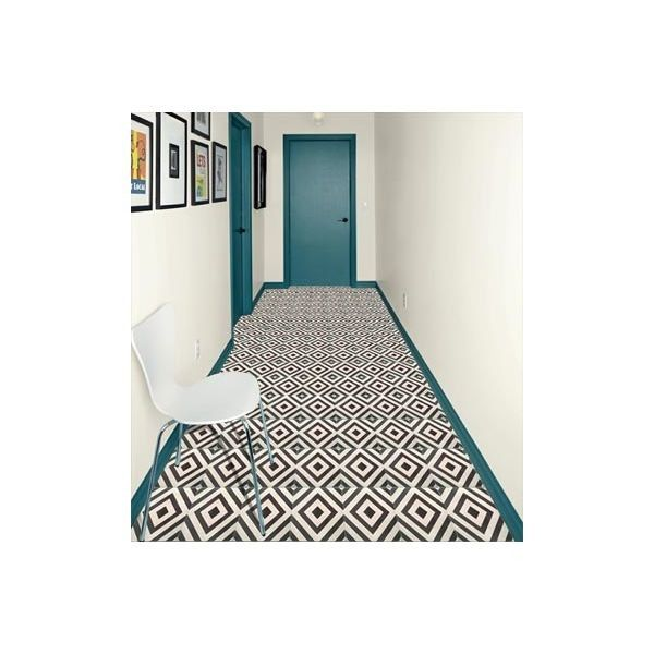 15 best d co noir images on pinterest bedrooms black for Carrelage 20x20
