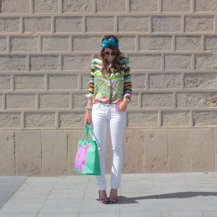 Inspírate con Marta Escalante y su total look // Let Marta Escalante's total look inspire you  Instagram: @holacuore