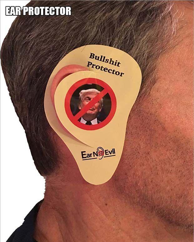 Donald Trump Ear Protector ~ Best Christmas Present
