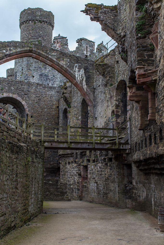 Castillo de Conwy, Gales.
