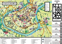 Visit Shrewsbury Town Map 2013  Considering...