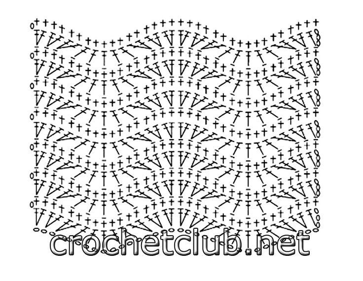 Mejores 107 imágenes de Crochet: Tutorial and pattern en Pinterest ...