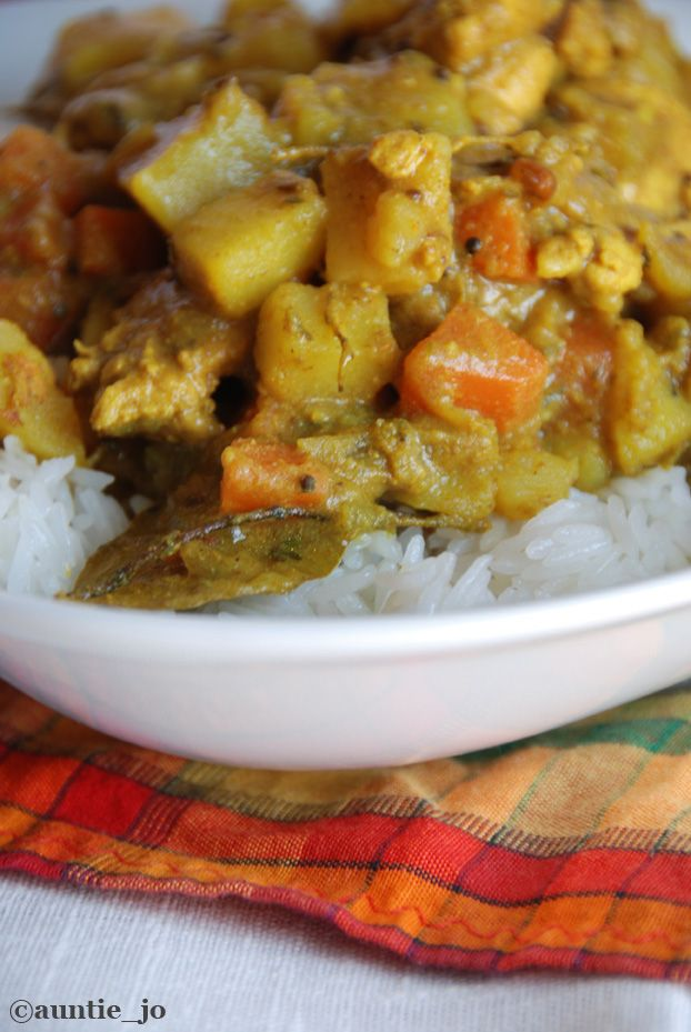 made this tonight for din din: Chicken Colombo.  I'm unsure if I make a similar recipe, but need to post it! so delish.