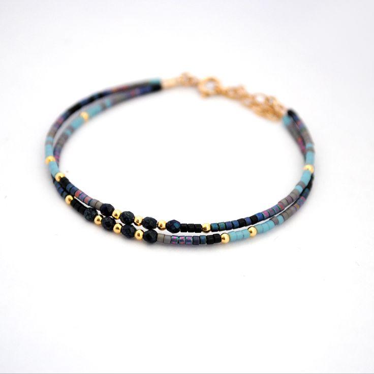 Bracelet Blue roan