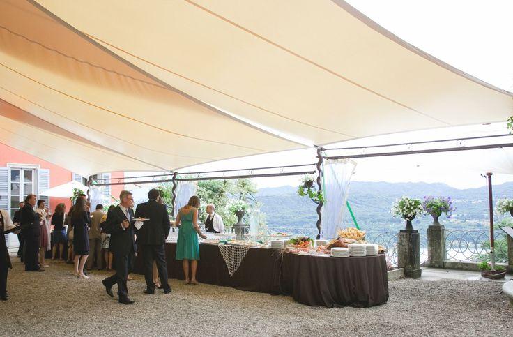 Spazio all'aperto per happy hour. #wedding #dehor #LerianSrl