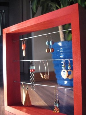 The Indie Handmade Show: Jewelry Holder: a DIY Project and some ideas/ Porta Gioielli: un progetto DIY e qualche idea