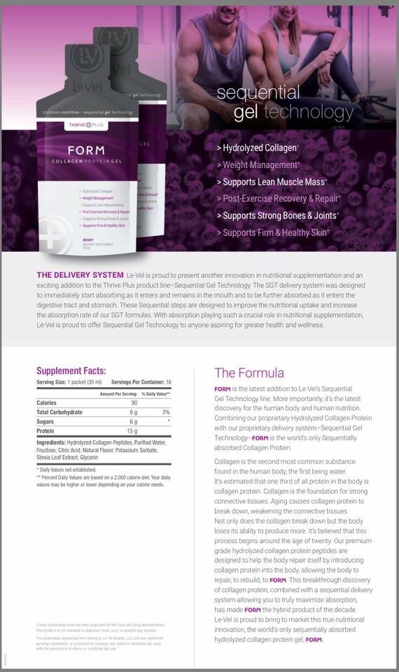 It's available!!!! Form Sequential Collagen Protein is ...
