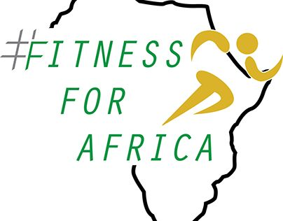"""Check out new work on my @Behance portfolio: """"Fitness for Africa Logo"""" http://be.net/gallery/53552087/Fitness-for-Africa-Logo"""