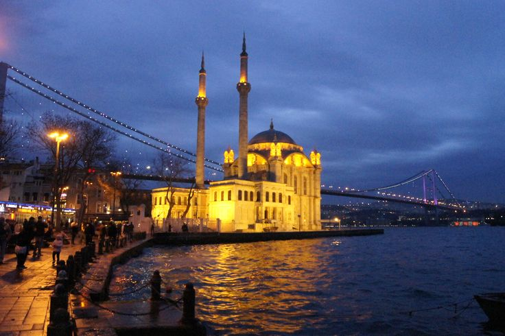 Ortaköy, mavi saatler