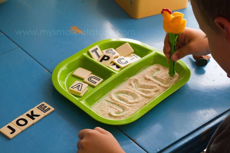 Chicken scratch - super creative way to practice writing letters or words
