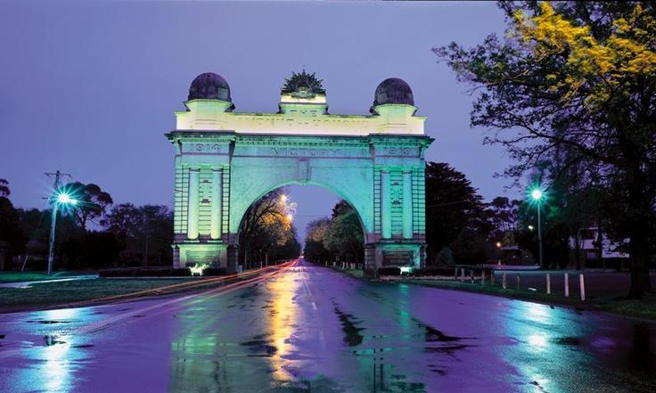 The Arch of Victory... Ballarat. Australia