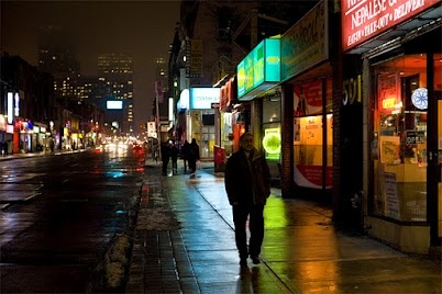 Rainy Yonge Street - Toronto, Canada