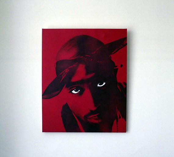 Tupac art. Limited edition prints. 2pac art / 2pac poster /