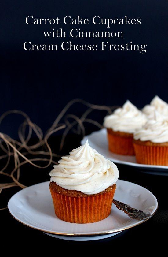 Wicked sweet kitchen: Porkkana cupcakes kaneli-tuorejuusto-kuorrutteella