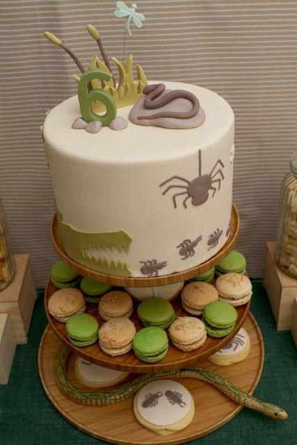 "Creepy Crawly Animals / Birthday ""Creepy Crawly 6th Birthday "" | Ca..."