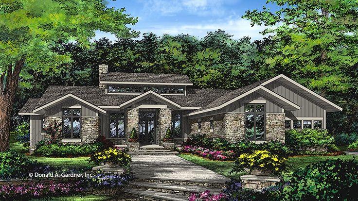 Prairie Style House Plan 3 Beds 2.5 Baths 2115 Sq/Ft