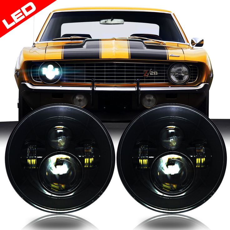Your Classic Camaro Needs better headlights - see our selection!