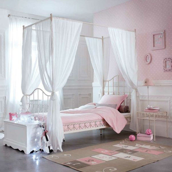 best 25 lit baldaquin enfant ideas on pinterest. Black Bedroom Furniture Sets. Home Design Ideas