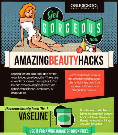 6 Amazing Beauty Hacks
