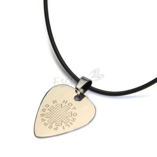 Collar + Colgante de Púa para Guitarra Acústica Eléctrica