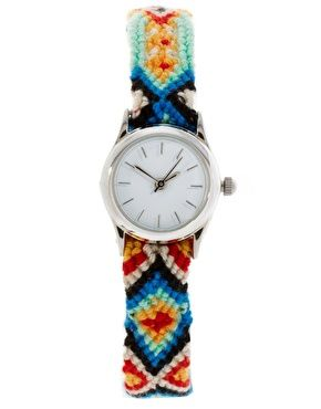 Friendship Bracelet Watch. Amaaazing