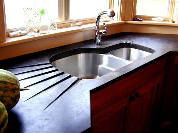 78 Images About Concrete On Pinterest Countertops Polished Concrete Countertops And Stained