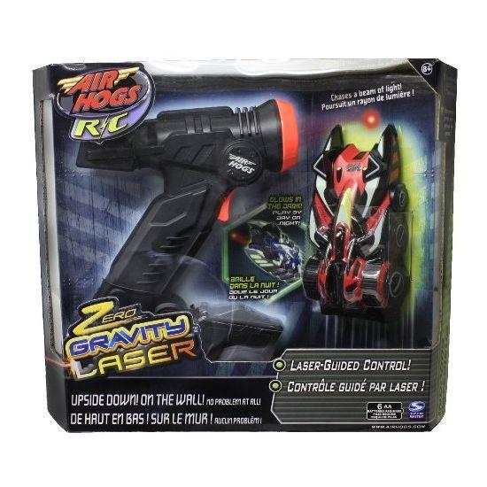 Air Hogs Zero Gravity Laser Uzaktan Kumandalı Araba Fiyatı ve Özellikleri:   Silah şeklindeki kumandası ile lazer ışını yayan bu müthiç araç, kumandadan çıkan lazer ışını hızlı bir şekilde takip edebiliyor. Ayrıca duvarda ve tavanda baş aşağıda gidebiliyor, eşi benzeri yok Air Hogs Laser Gravity araç sınırlı sayıda, kaçırmayın..