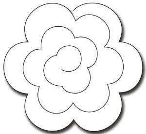 Rolled Rose Google Zoeken Rolled Paper Flowers Felt
