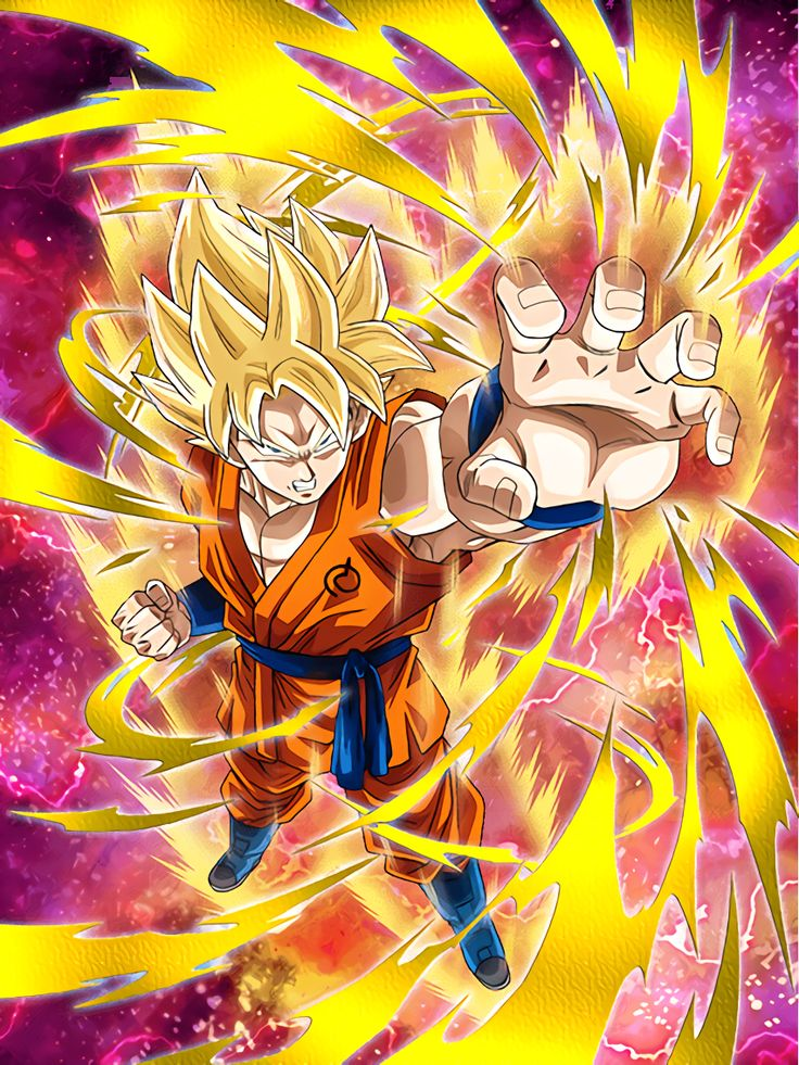 463 best dragon ball z dokkan battle franchise images on pinterest anime japan battle and dragon - Goku super sayen ...