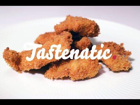 Hjemmelavede kyllingenuggets! - Tastenatic.dk