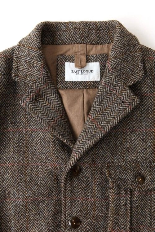Travel Jacket, Harris Tweed, East Logue