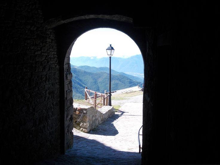 Arco con panorama (San Pellegrino in Alpe)