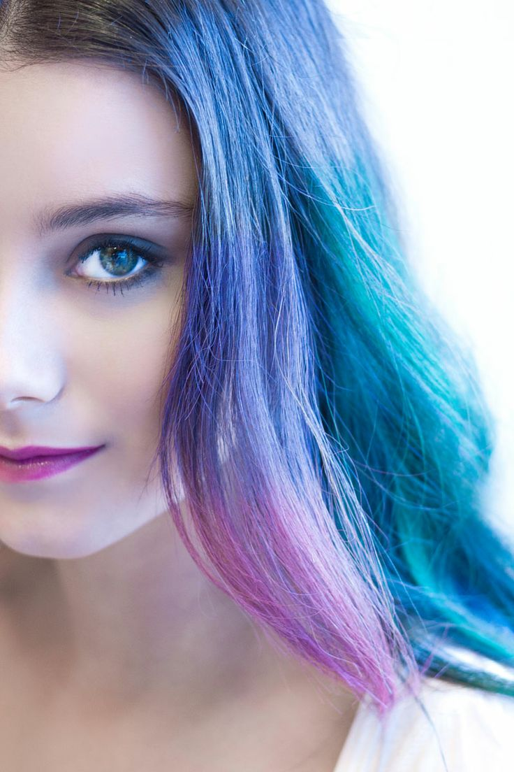 Tizas de colores para el pelo © Carlos de Lucas