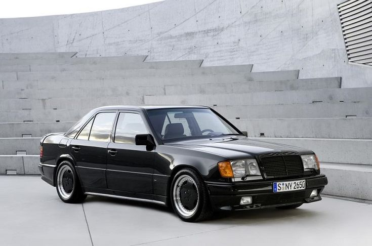 The 52 Coolest Cars of the last 50 Years-1986 Mercedes-Benz W124 Hammer