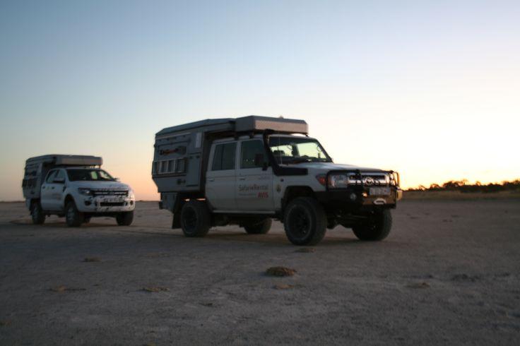 Overlanding - Alu-Cab, Botswana
