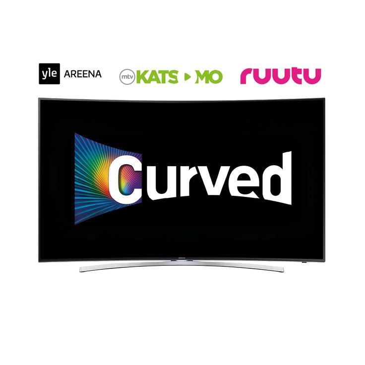 Samsung - UE55H8005S on huipputyylikäs kaareva televisio, laadukkaalla kuvalla #lahjaidea