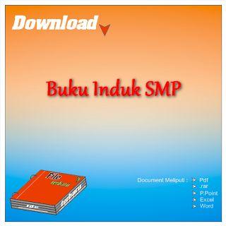 Download Contoh Format Buku Induk Siswa SMP Gratis