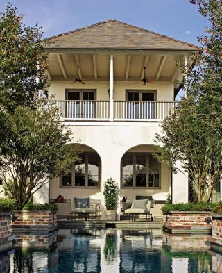 Traditional Exterior by Ann Holden and Ken Tate in New Orleans, Louisiana