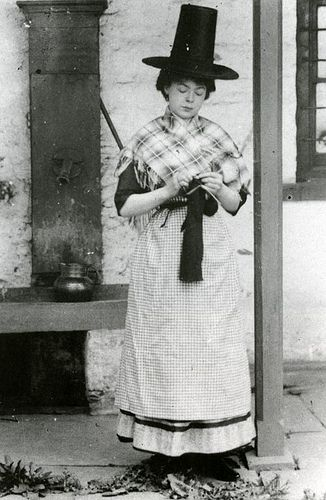 rosapomar:    Welsh Lady (by MuseumWales)