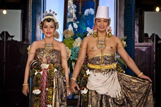 The Bride: Gusti Kanjeng Ratu Hayu, the daughter of Indonesia's Sultan Hamengkubuwono X.  The Groom: Kanjeng Pangeran Haryo Notonegoro, an Indonesian-born UN worker who met his bride at a high school reunion and now works in NYC.  When: Oct. 21-23, 2013  Where: Yogyakarta, Indonesia