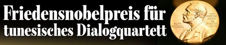 politik Friedensnobelpreis für tunesisches Dialogquartett Fr. 9.10.2015, 11:03  Oslo – Der Friedensnobelpreis 2015 geht an das tunesische Quartett für den nationalen Dialog. Das gab die norwegische Jury am Freitag in Oslo bekannt. Der Preis werde für die Bemühungen um eine pluralistische Demokratie in dem nordafrikanischen Land im Zuge des Arabischen Frühlings vergeben, hieß es in der Begründung für die prestigeträchtige Auszeichnung.