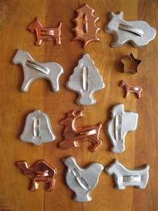 Vintage cookie cutters...